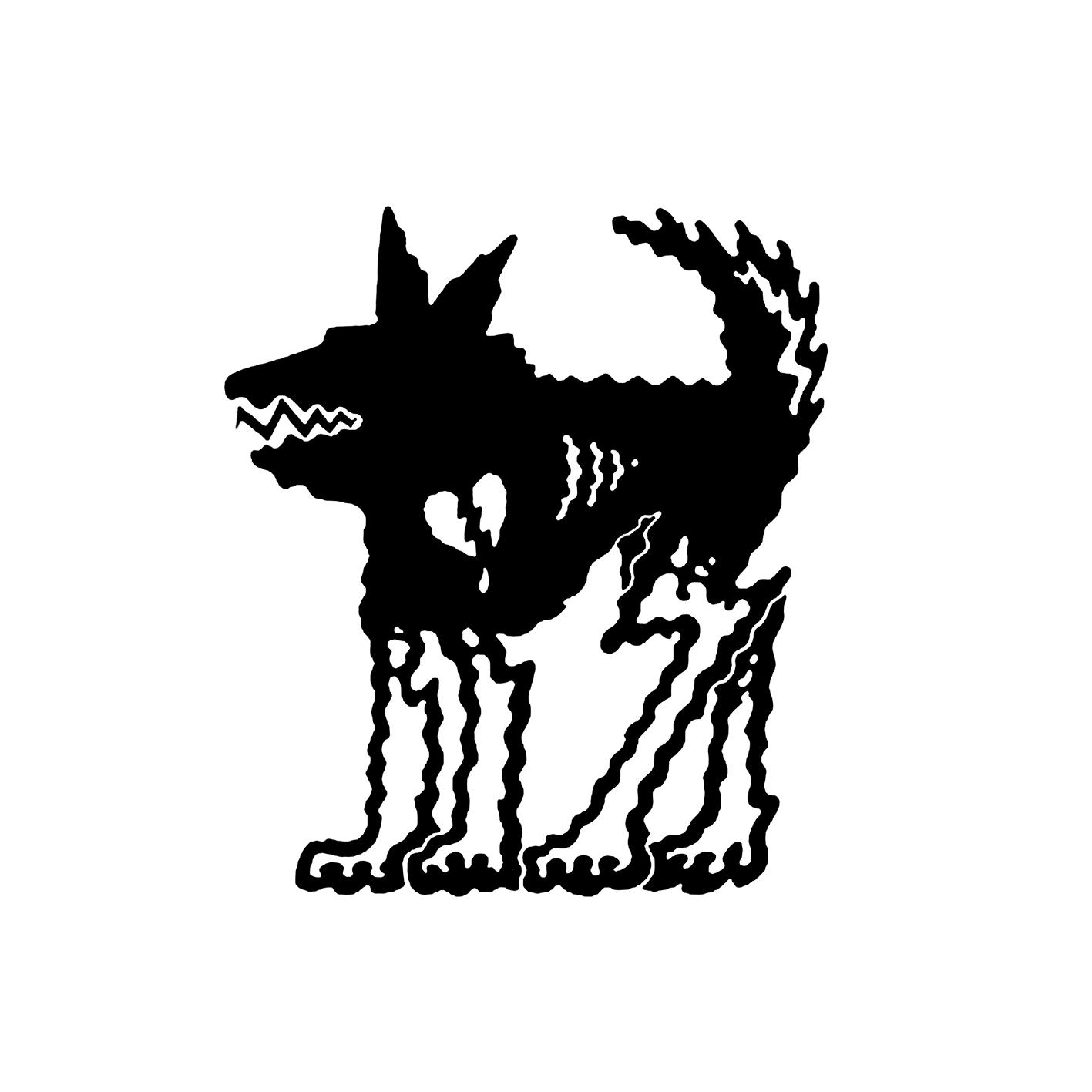 Black Dog Logo.