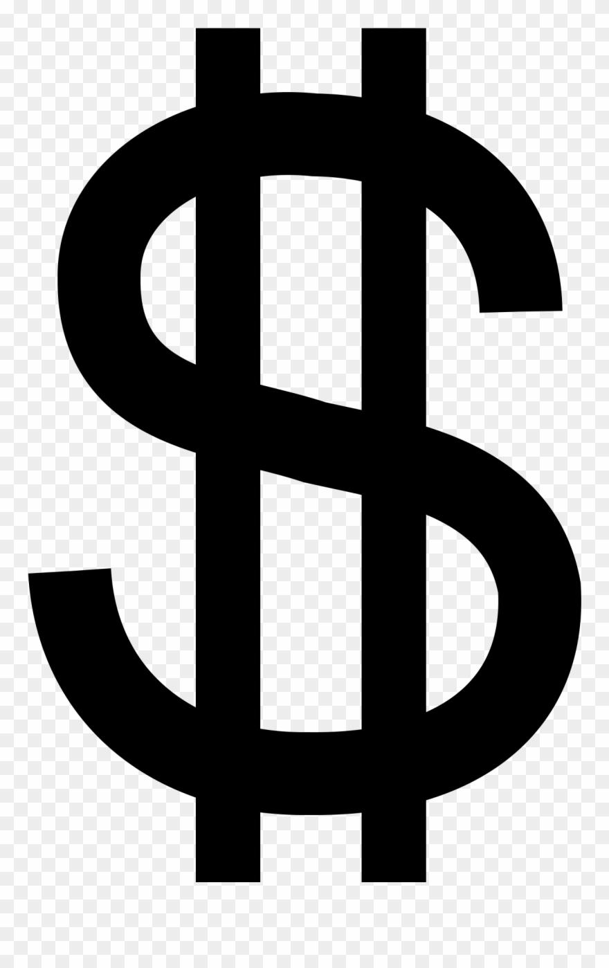 Images For Dollar Sign Black Clip Art.