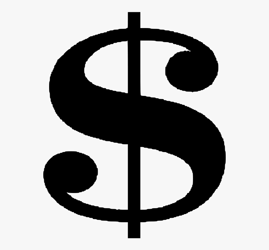 Black And White Money Clipart.
