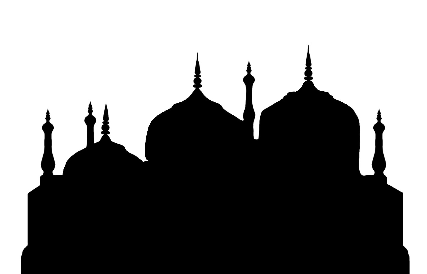 Mosque dome clipart.