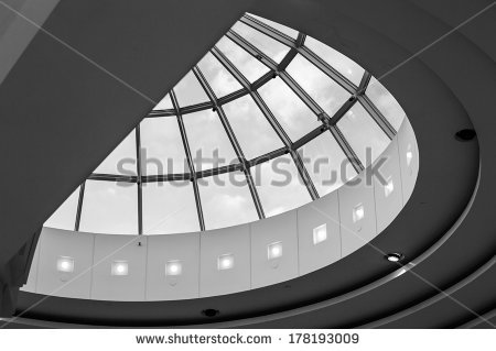 Glass Skylight Dome Stock Photos, Royalty.