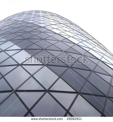 Gherkin Building Stock Photos, Royalty.