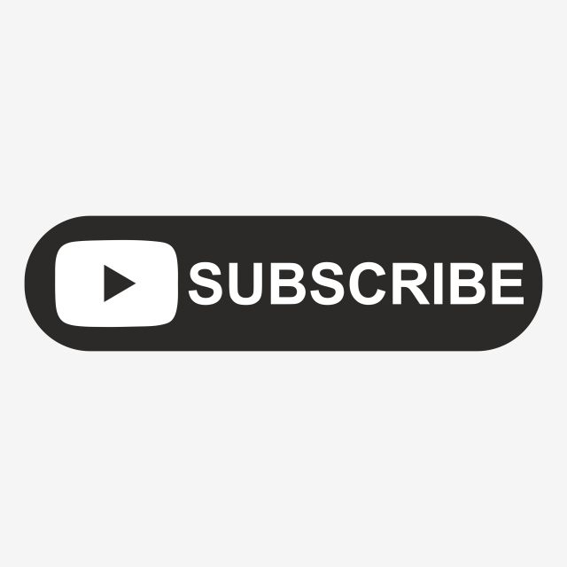 Youtube Black Subscribe Button, Subscribe, Subscribe Png, Black.