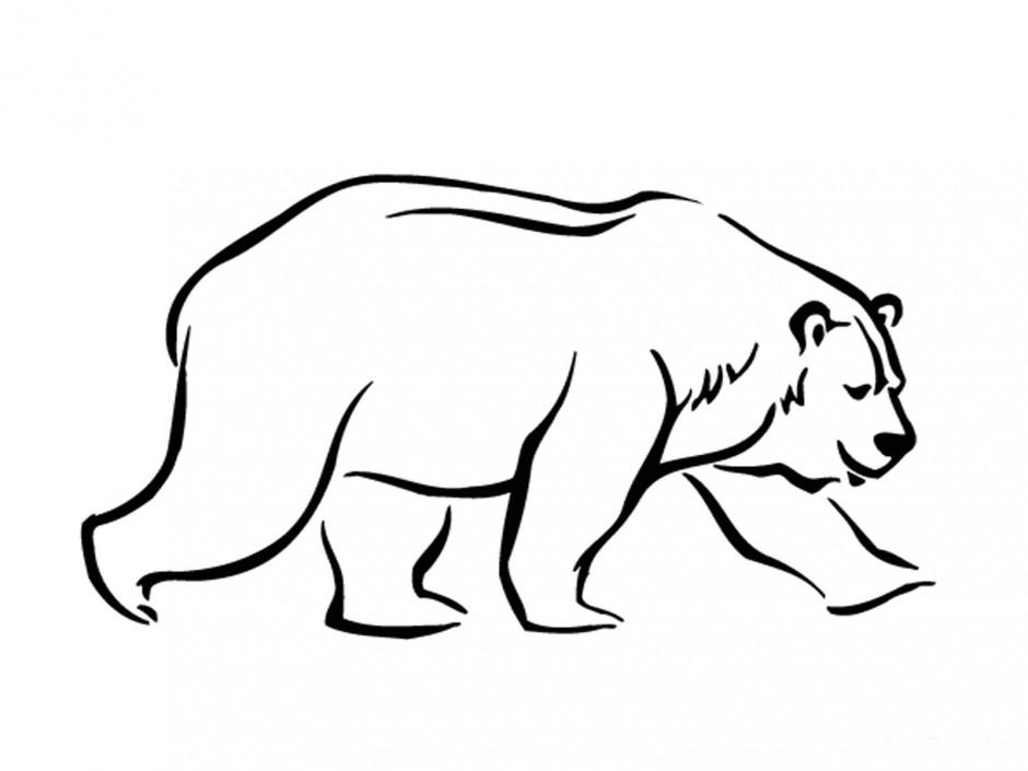 Polar Bear Cartoon.
