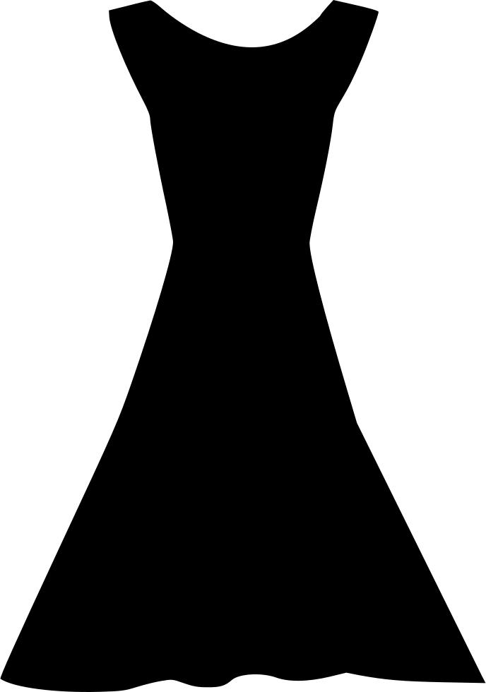 Little black dress Sleeve Silhouette Clip art.
