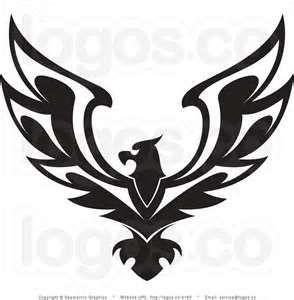 Royalty Free Black Eagle Logo By Seamartini Graphics 4163.