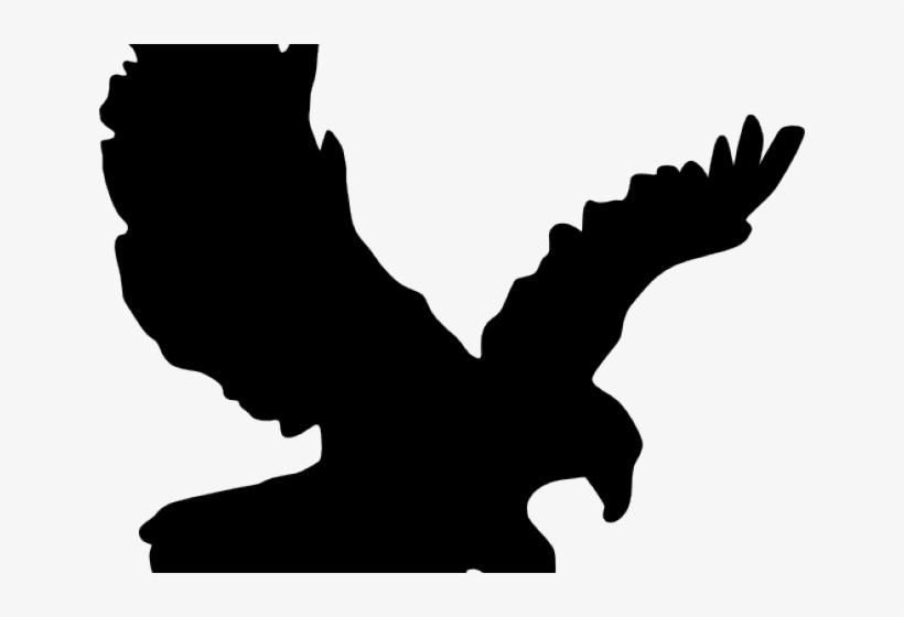 Black Eagle Clipart Small Eagle.