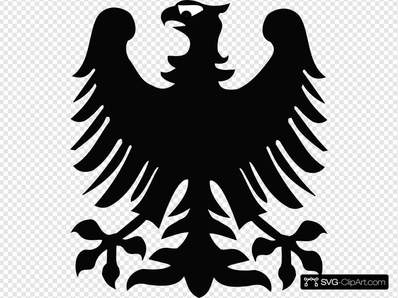 Black Eagle Clip art, Icon and SVG.