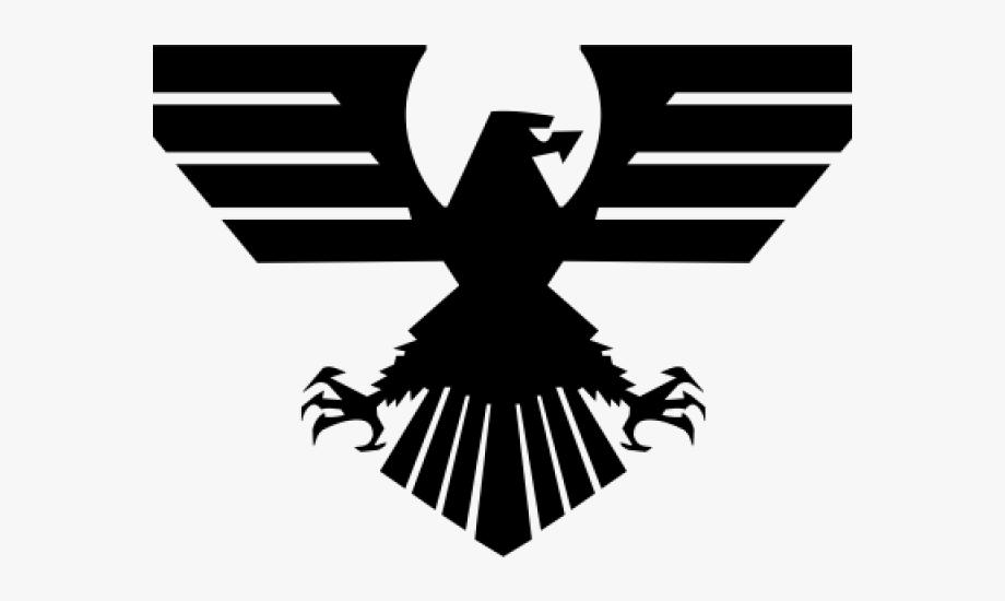 Black Eagle Clipart Military.