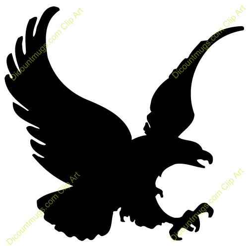 Black Eagle Clipart.