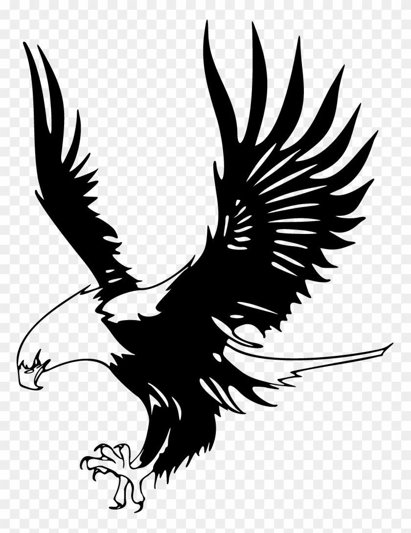 Black Eagle Logo.