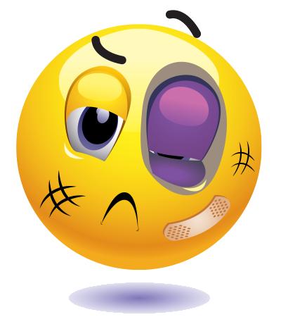 Black Eye Emoji.