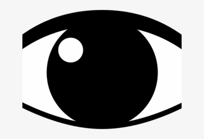 Silhouette Clipart Eye.