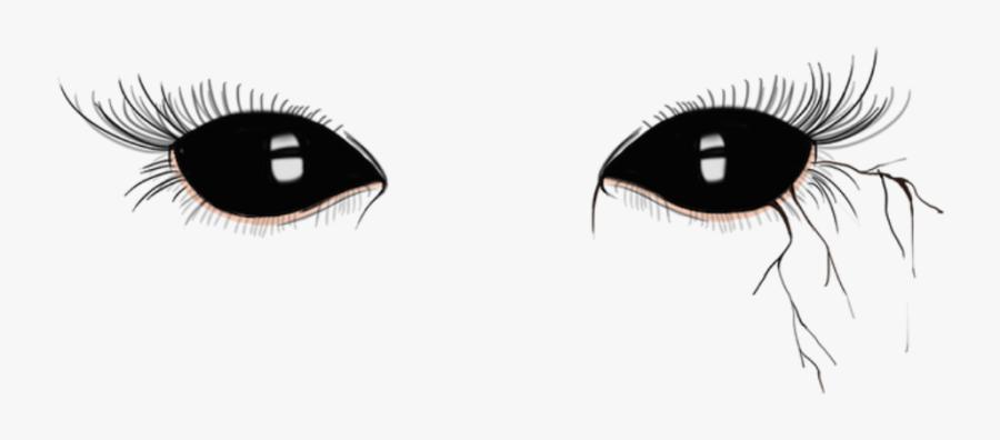 Clip Art Demon Black Eyes.