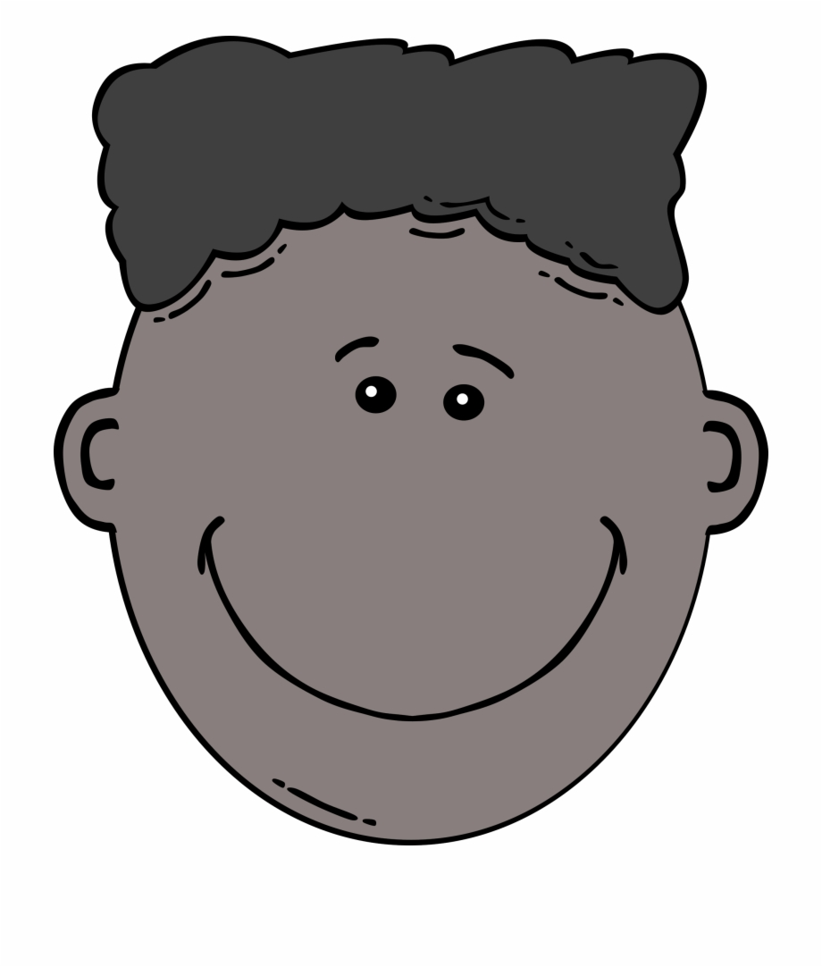 This Free Icons Png Design Of Boy Face Cartoon.