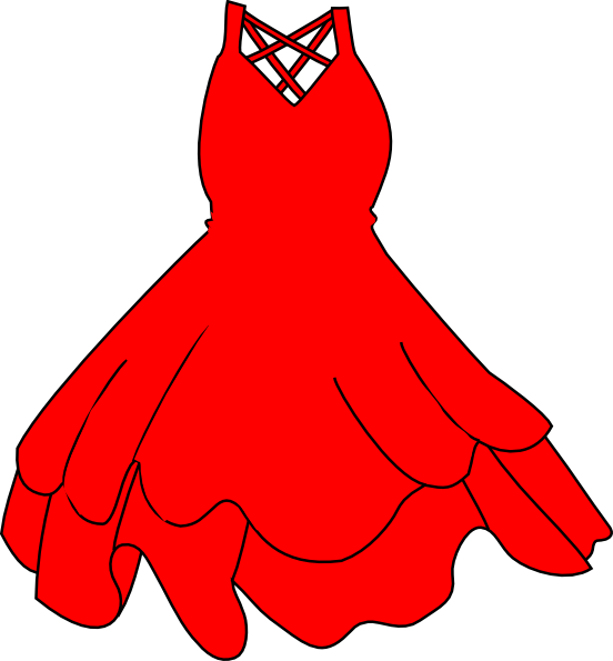 Black face red dress clipart images gallery for Free.
