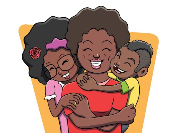 Top Black Family Clip Art Vector Graphics And Illustrations IStock.