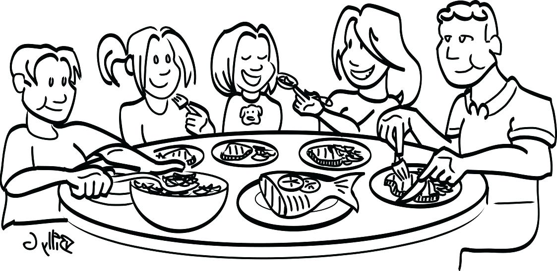 Dinner Table Silhouette at GetDrawings.com.