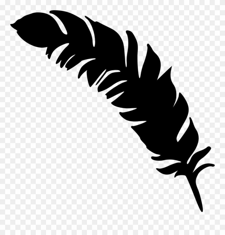 Black Feather 30 Png & Free Black Feather 30.png Transparent.