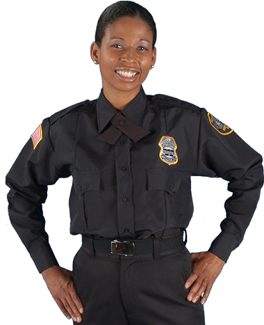Female Clipart Security Officer.