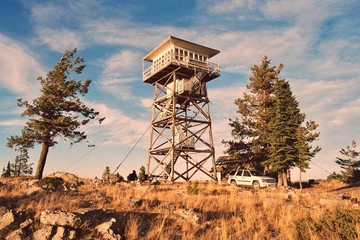 Lookout Tower photos, royalty.