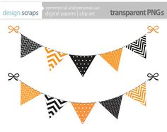 boy bunting banner clip art flag banner digital by designscraps.