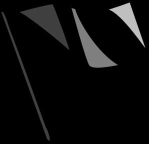 Black Flag Clip Art at Clker.com.