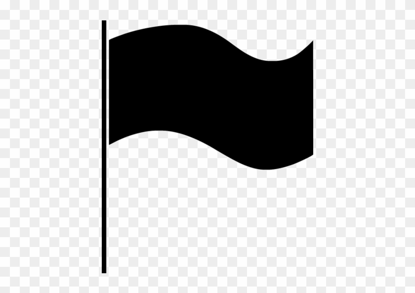 Black Flag Icon.