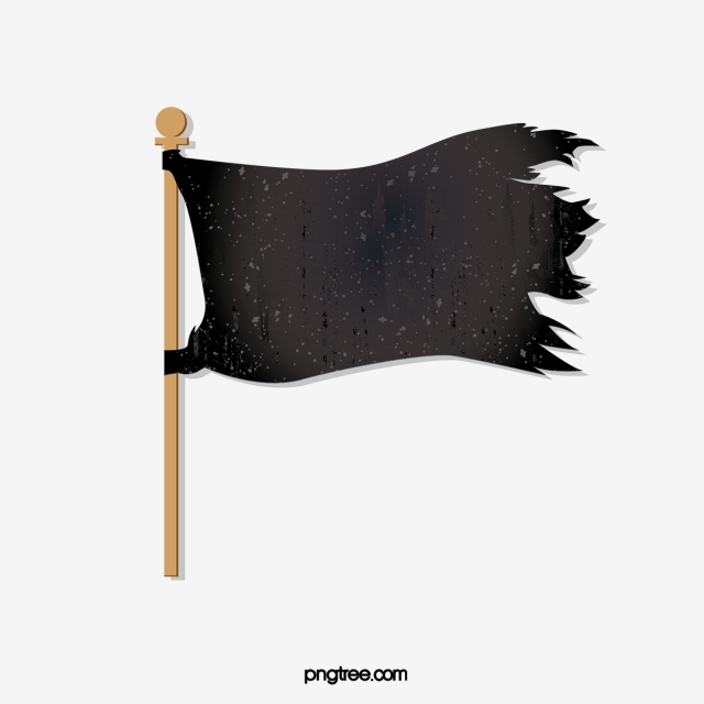 Vector Art Painting Banner, Flag, Model, Black Flag PNG and Vector.