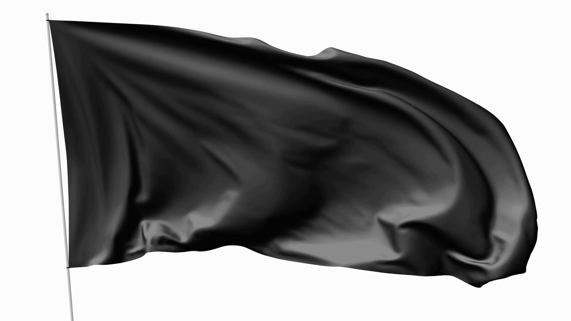 Black Flag PNG Image.