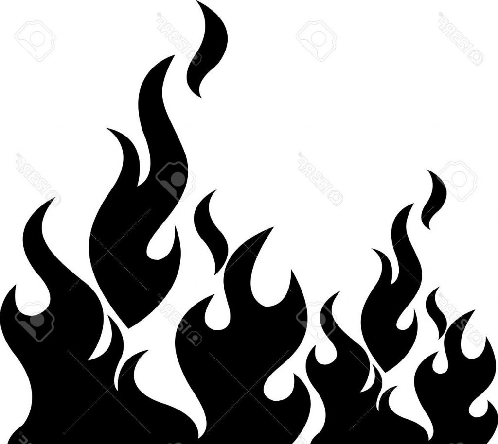 3679 Flame free clipart.