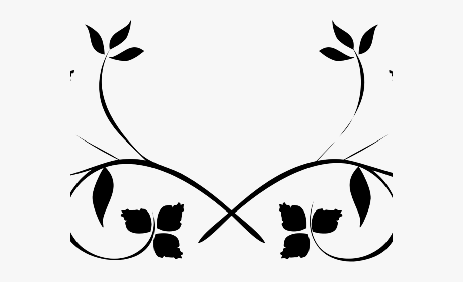 Flourish Clipart Leaf.