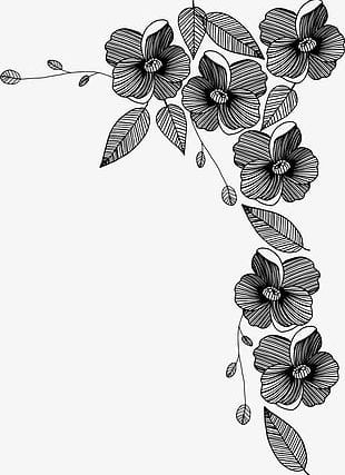 Black Flowers PNG Images, Black Flowers Clipart Free Download.