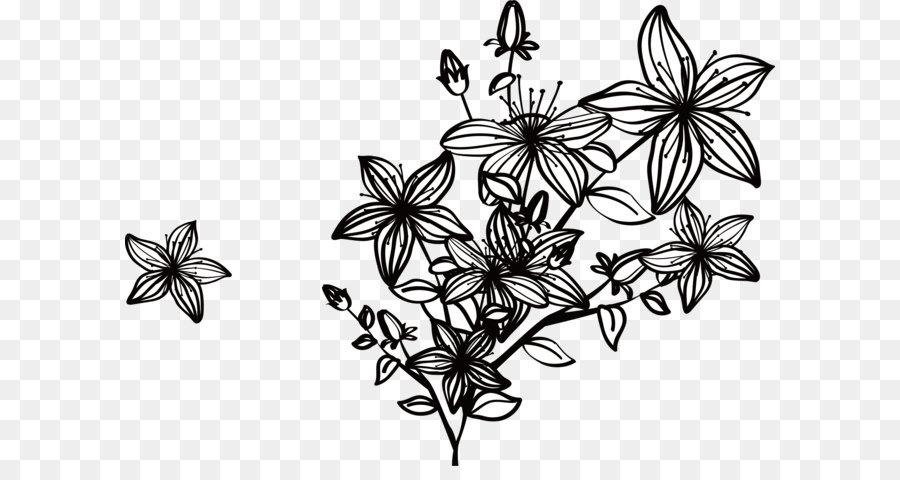 Black Flower Png & Free Black Flower.png Transparent Images #22297.