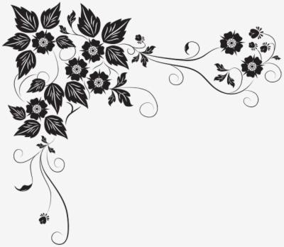 Result For: black flowers , Free png Download.