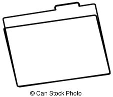 Folder Clipart Outline.