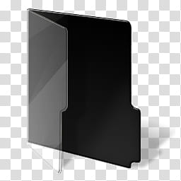 Developer Folder, gray and black folder icon illustration.