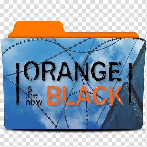 Orange is the new Black Folder Icon , oitnb transparent.