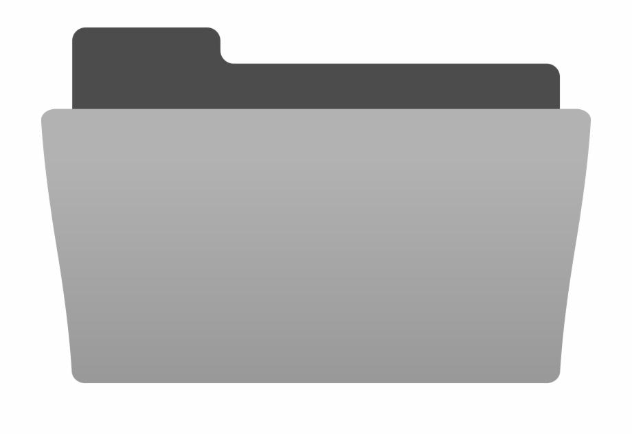 Black Folder Icon Icons Png.