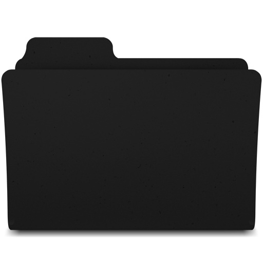 Free Black And White Folder Icon 396656.