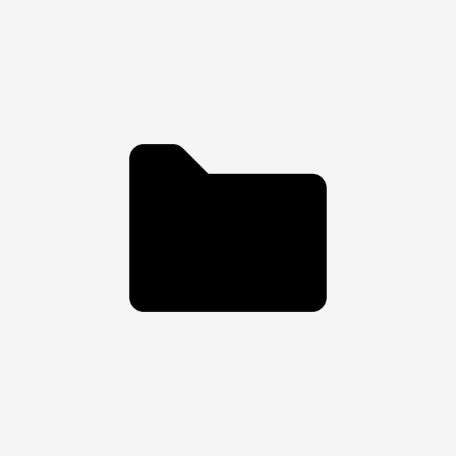 Black File Icon Free Illustration, Folder Icon, Ui App Icon.