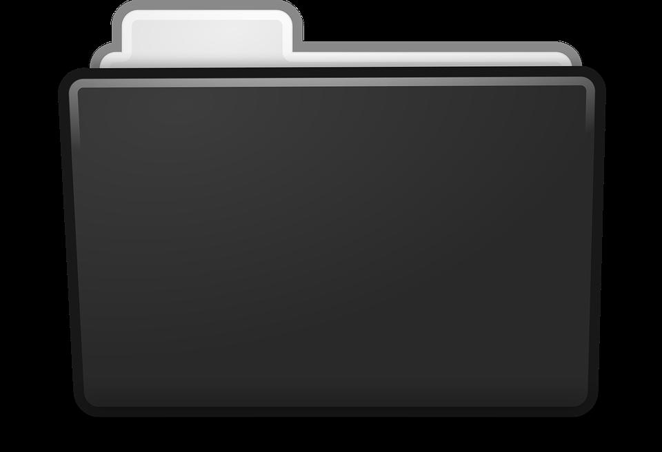 Download Black Folder Png () png images.