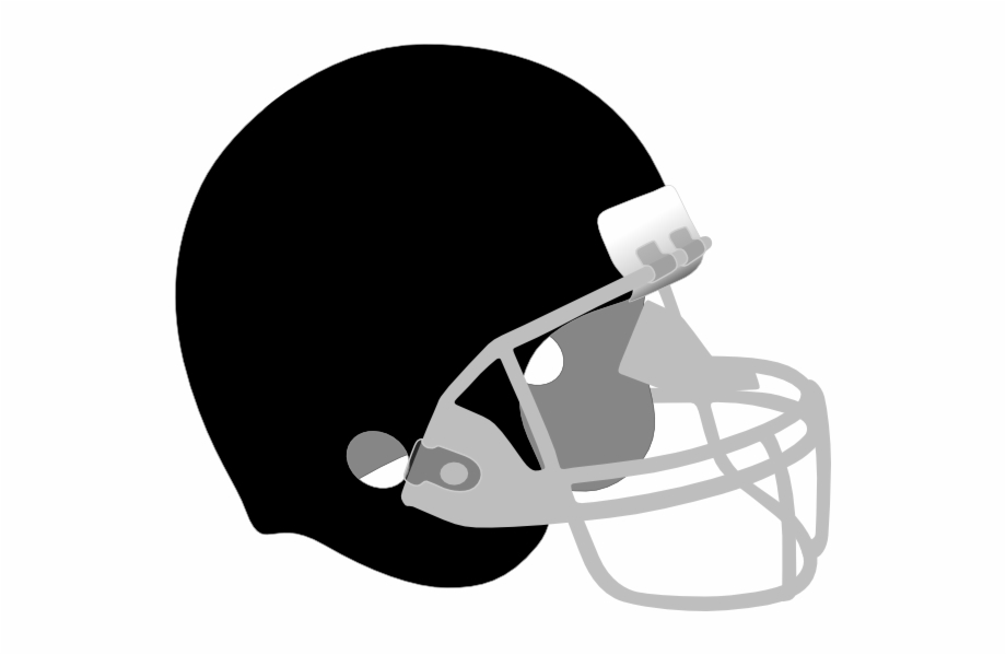 Football Helmets Clipart Black Free PNG Images & Clipart Download.