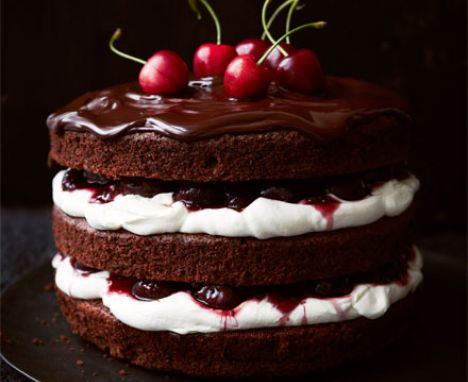 Black Forest pudding.