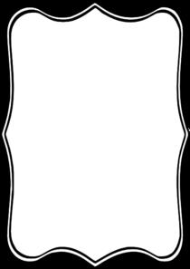 Black Frame Clip Art at Clker.com.