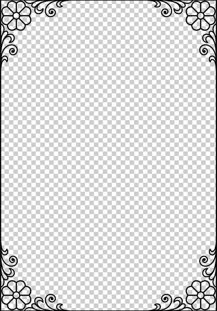 Black Frame PNG, Clipart, Area, Black, Black And White.