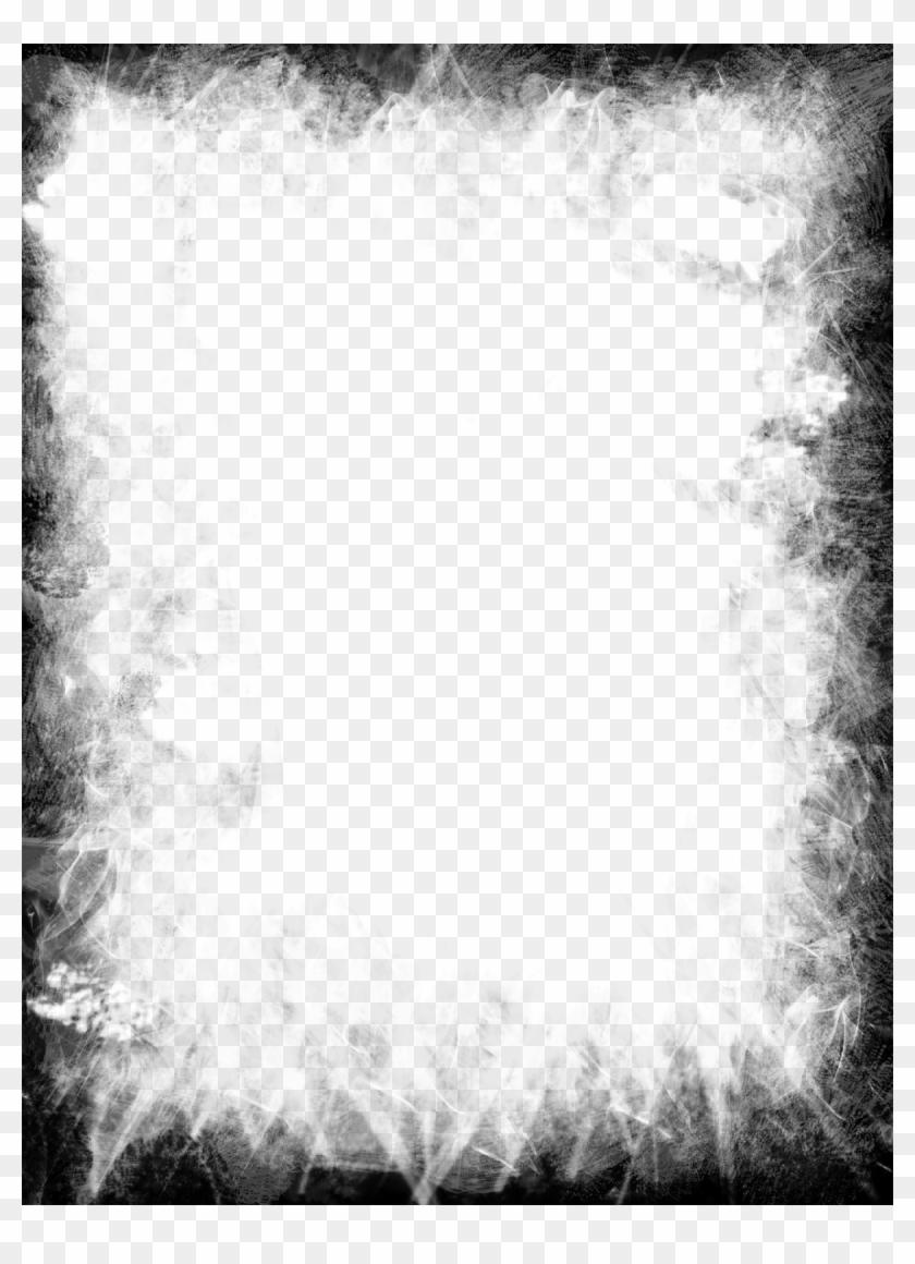 Download Grunge Black Frame Transparent Png.