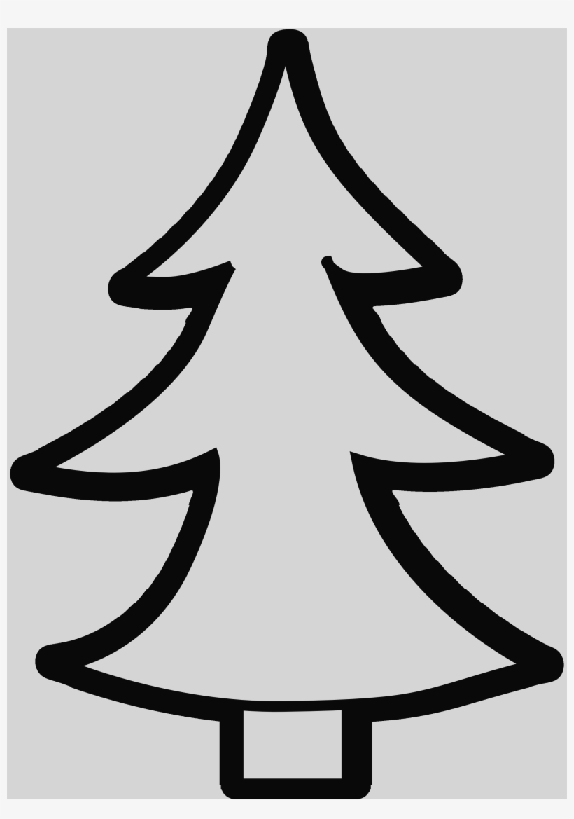 Christmas Tree Clipart Black And White Christmas Trees.