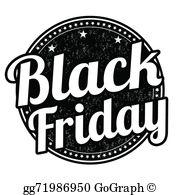 Black Friday Clip Art.