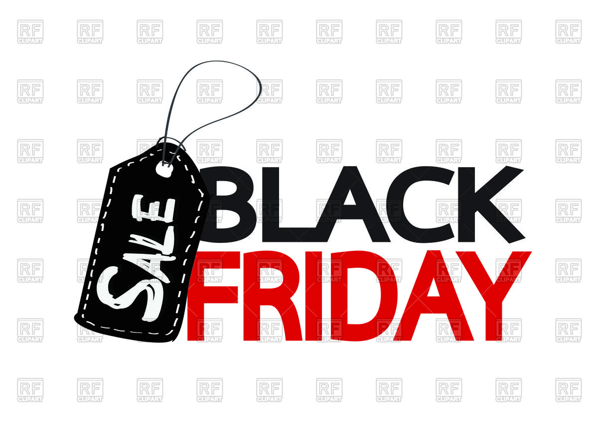 Black Friday Sale Stock Vector Image.